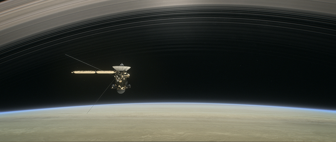 Saturn Ring gap